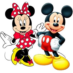 Produtos Licenciados Mickey E Minnie Mouse