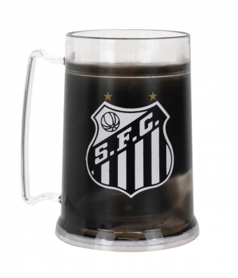 Caneca Gel Isolante Térmico 300ml - Santos