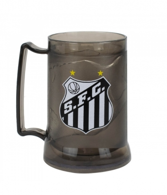 Caneca Gel Isolante Térmico 400ml - Santos